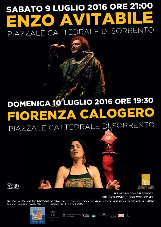 Enzo Avitabile e Fiorella Calogero in concerto