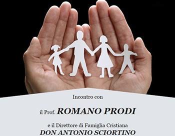 Incontro con Romano Prodi e Don Anotnio Sciortino