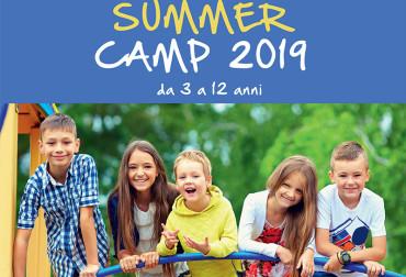 Locandina campo estivo 2019
